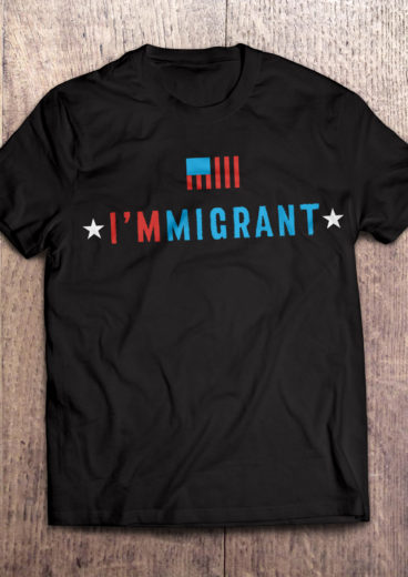 I'm Immigrant T-Shirt in Black