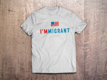 I'm Immigrant T-Shirt in White