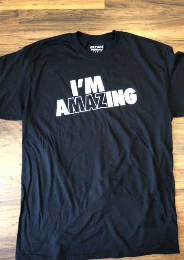 I'm AMAZing T-Shirt in Black